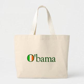 Obama Irish Large Tote Bag