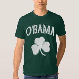 Obama Irish Shamrock T-shirt