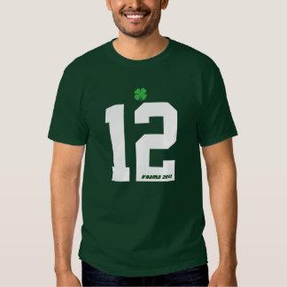 O'Bama Irish St. Patrick's Day 2012 Obama Tee Shirt