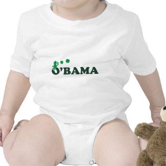 obama irish baby bodysuit