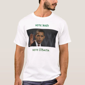 Obama, irlandés del voto, voto O'Bama Playera