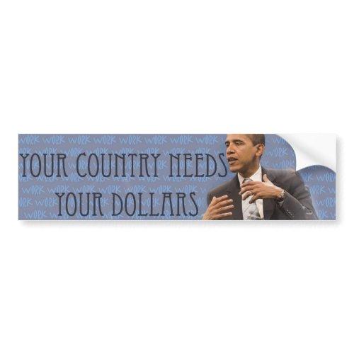 Obama IRS bumpersticker