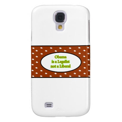Obama is a Legalist Brown Stars jGibney The MUSEUM Samsung Galaxy S4 Cover