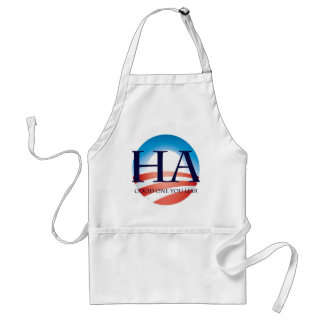 Obama is a liar! adult apron