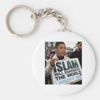 Obama is a Muslim. Keychain
