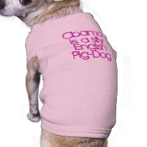 Obama is a silly English Pig-Dog T-Shirt
