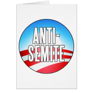 Obama is an Anti-Semite Card