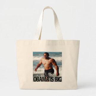 Obama is Big Jumbo Tote Bag