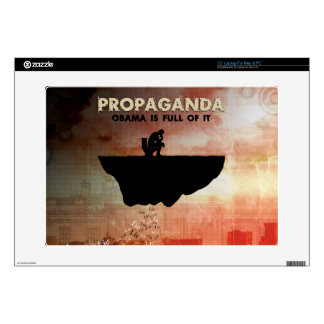 """Obama Is Full of Propaganda Decals For 15"""" Laptops"""