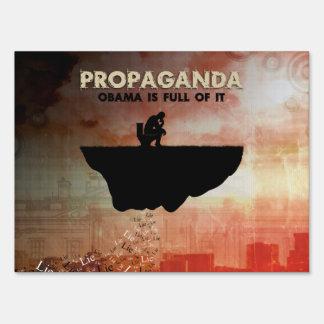 Obama Is Full of Propaganda Sign
