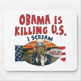 Obama is Killing U.S. Mouse Pad