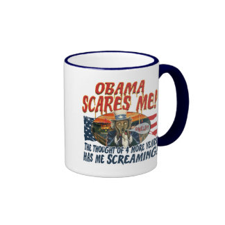 Obama is Killing U.S. Ringer Mug