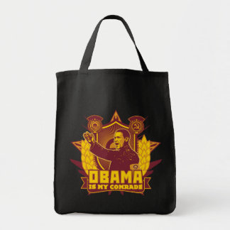 Obama Is My Comrade Tote