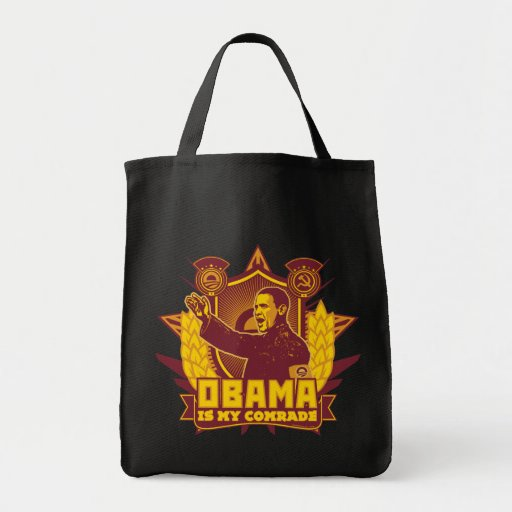 Obama Is My Comrade Tote Tote Bag