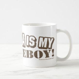 Obama Is My Homeboy Brown Mug
