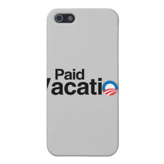 OBAMA IS PAID VACATION COVER FOR iPhone 5