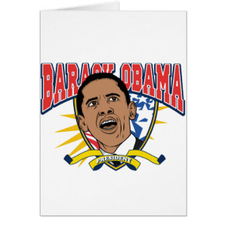 Obama Is President Card