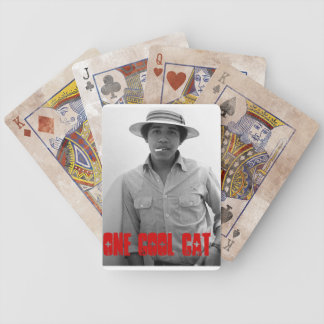 Obama Is The Coolest Cat Bicycle Playing Cards