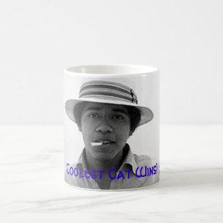 Obama Is The Coolest CaT Magic Mug