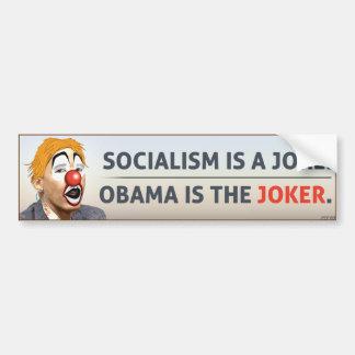 Obama Is The Joker Car Bumper Sticker
