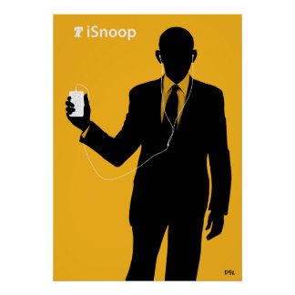 Obama iSnoop Poster