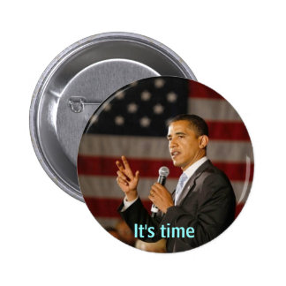 Obama It's time button