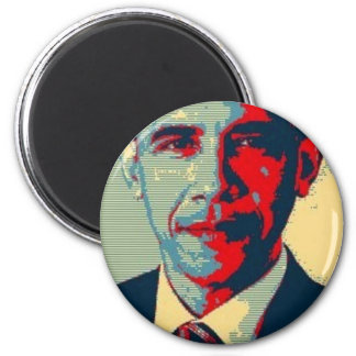 ¡Obama-ize usted mismo! Artículos clásicos Imán Redondo 5 Cm