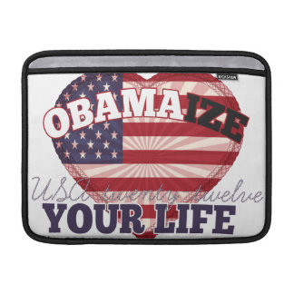 Obama-ize Your Life! MacBook Air Sleeves