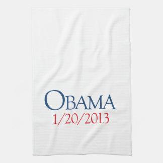 OBAMA JANUARY 20 -.png Kitchen Towel
