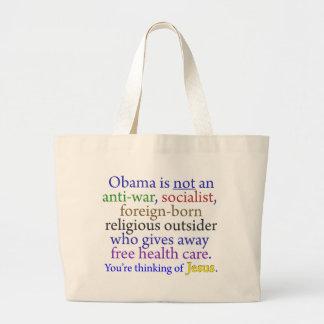 Obama & Jesus Canvas Bag