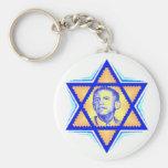 Obama Jewish Keychain