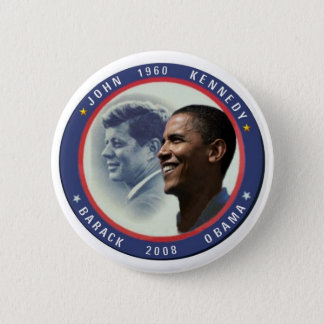 Obama JFK Button