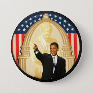 OBama/JFK Retro Style Button