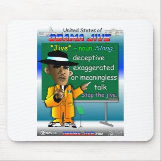 Obama Jive is a Noun Mouse Pad