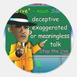 Obama Jive is a Noun Sticker