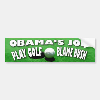 Obama Job Bumper Sticker