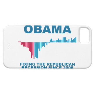 Obama Job Growth Graph iPhone SE/5/5s Case