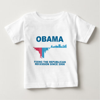 Obama Job Growth Graph Shirt