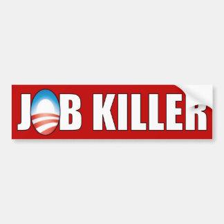 Obama - Job Killer Car Bumper Sticker