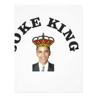 Obama Joke King Letterhead