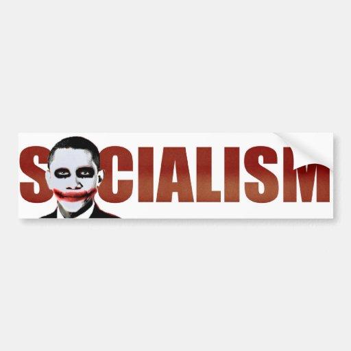 Obama Joker Bumper Stickers