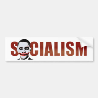 Obama Joker Car Bumper Sticker