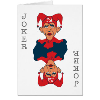 Obama-Joker Card