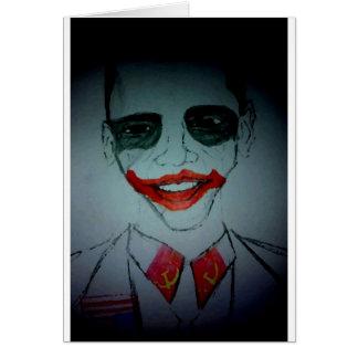 Obama Joker Card