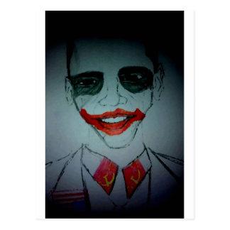 Obama Joker Postcard