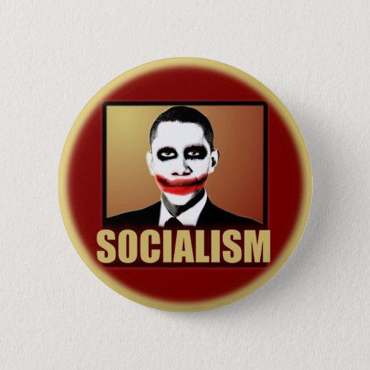 Obama Joker - Socialism Pinback Button