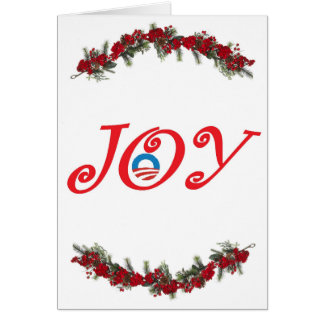 Obama Joy - Greeting Card