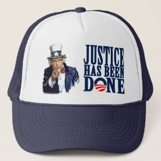 Obama Justice has been done Bin Laden Dead Trucker Hat