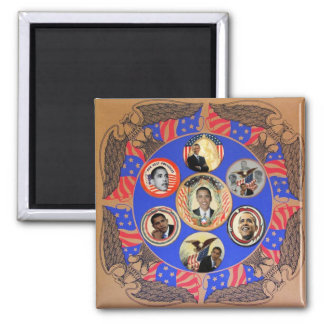 Obama Kaleidoscope Magnet Magnet