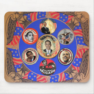 Obama Kaleidoscope Mousepad